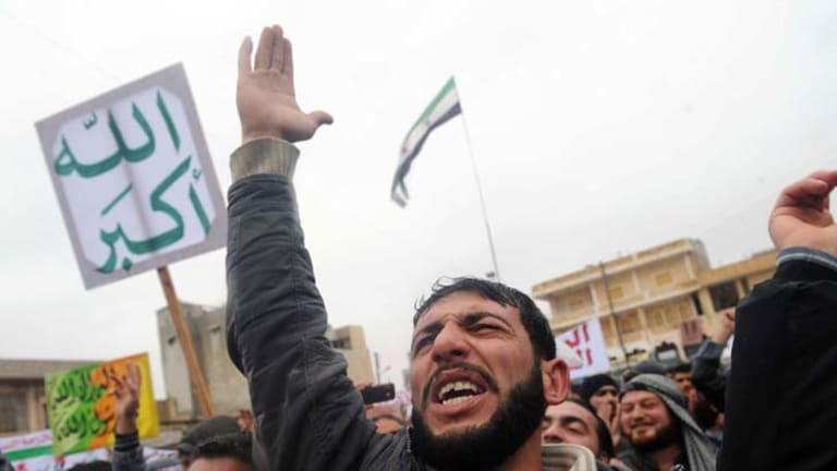"""""""At least 30 per cent solid support""""... Presdient Bashar al-Assad still has a hold on Syria."""