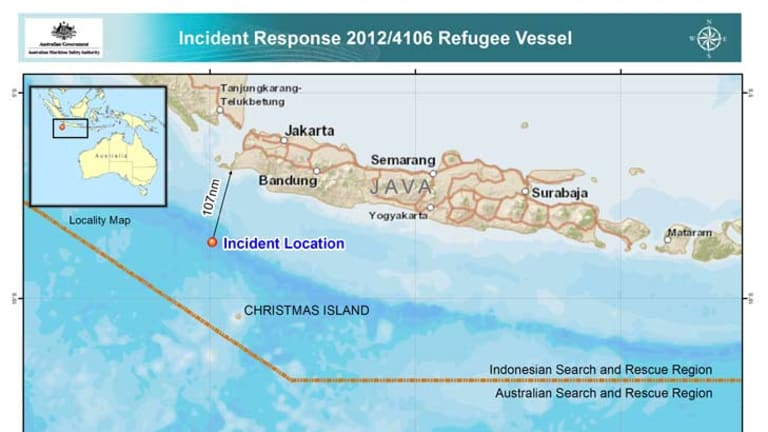 Dozens feared dead as packed asylum boat capsizes off Christmas Island
