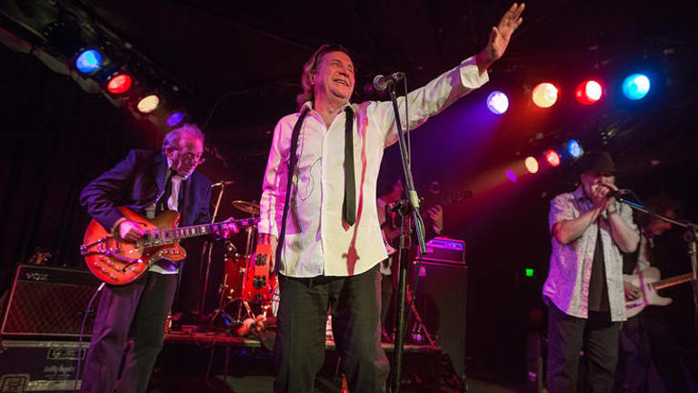 The Pretty Things played their first Australian show on Tuesday.