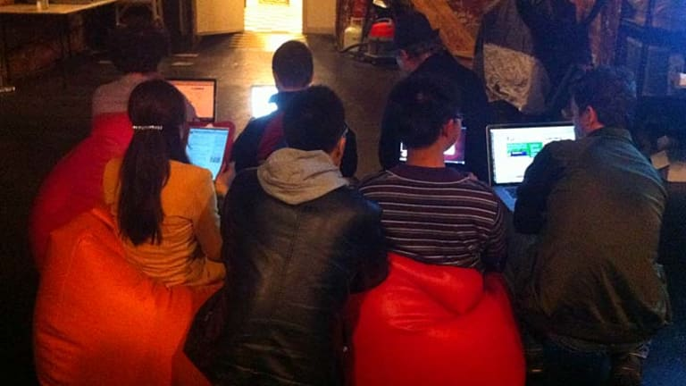 Attendees are taught how to encrypt their online activity.