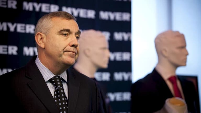Myer chief Bernie Brooks says the company has been working with IBM to identify the cause of its Boxing Day outage.