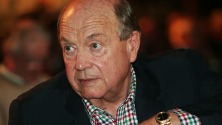 Disgraced former WA premier Brian Burke.