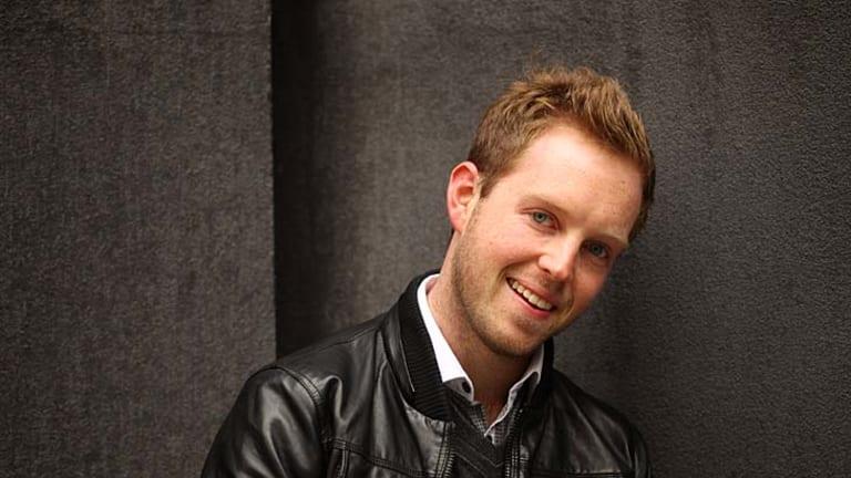 <i>The Naughty Rude Show</i> host James Findlay.