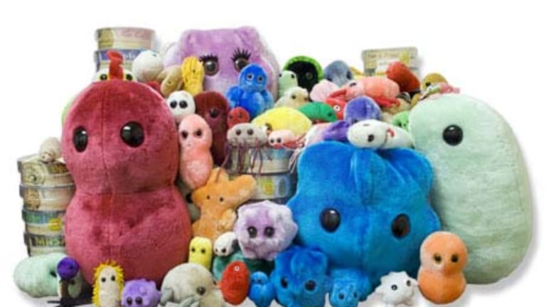 Popular ... assorted soft toys from GIANTmicrobes.