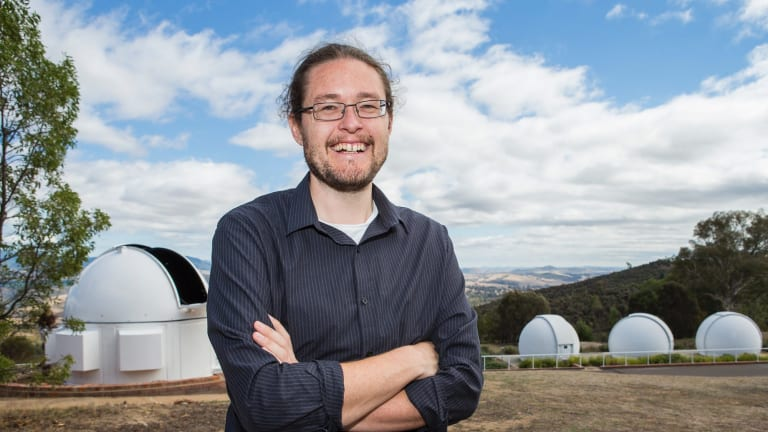 Dr Brad Tucker is working on the Australian Asteroid Mining Project