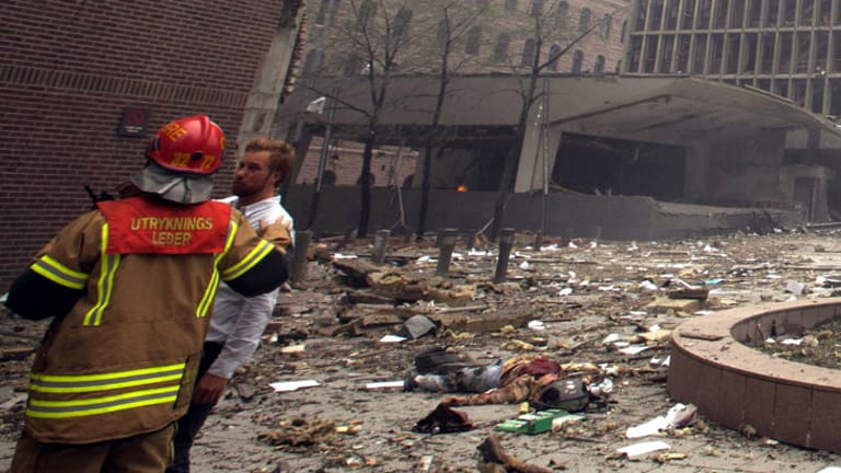 A blast has rocked central Oslo, with at least two reported dead and the Prime Minister's office extensively damaged.