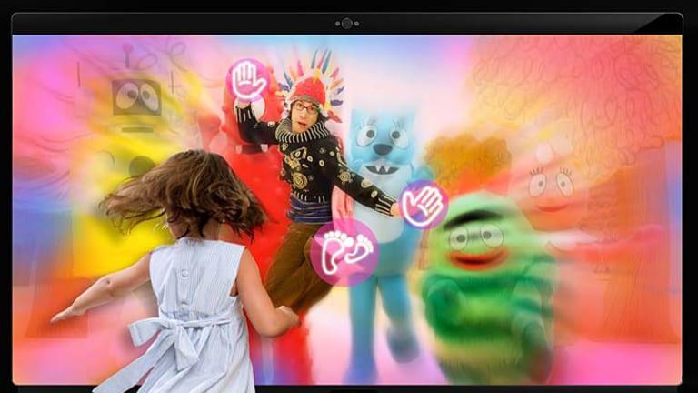 An Apple TV mockup created by Amnesia Razorfish as part of its April Fool's joke.