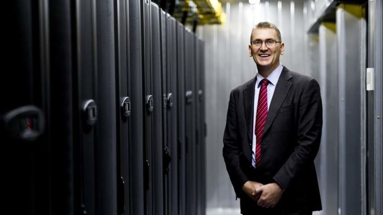 MILESTONE: Datapod managing director and chief architect Scott Carr at the launch of the ACT Chief Minister's Export Awards.