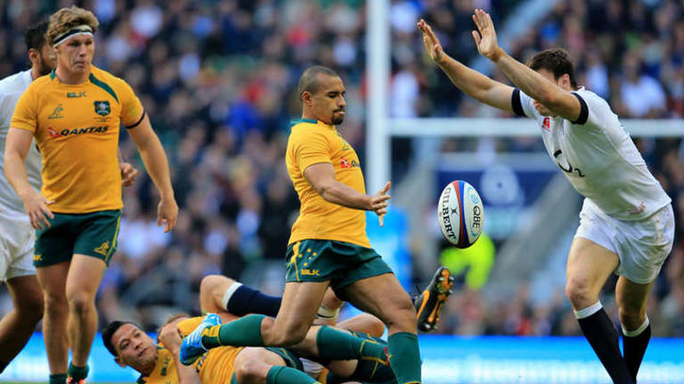 Worst game for Wallabies? Halfback Will Genia.