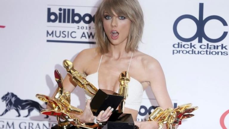 More awards on the way? Taylor Swift is up for nine 'Moonman' awards.