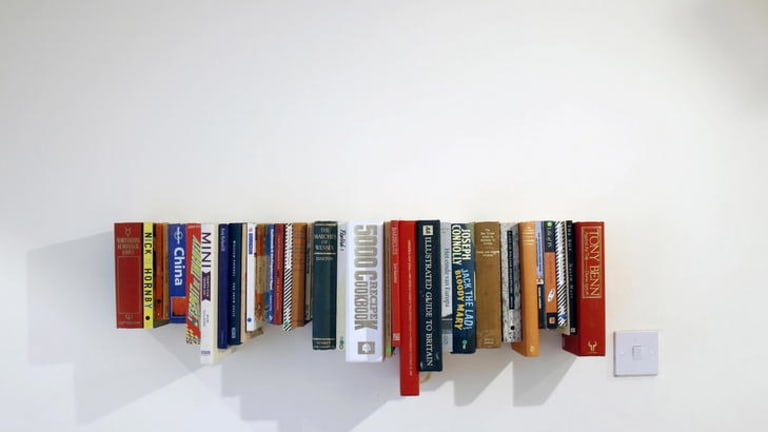 Novel idea ...  Not Tom bookshelf.