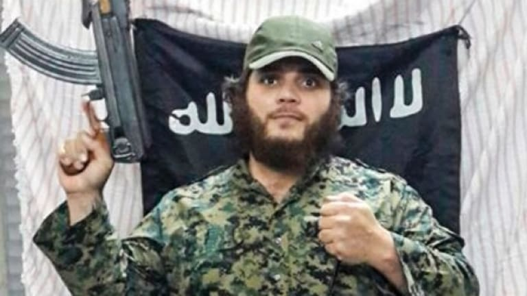 It is now thought Khaled Sharrouf survived a drone attack in Iraq.