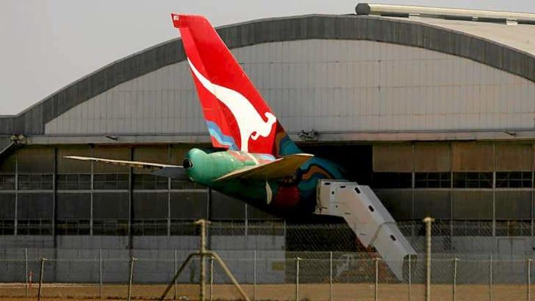 """Not enough work"": Qantas' maintenance site at Avalon airport."