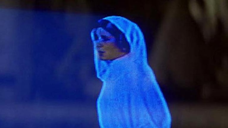 """""""Help me Obi-Wan Kenobi"""" ... holograms have existed in science and popular fiction alike for almost half a century."""