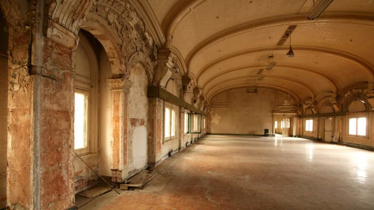 Roland Harvey would like to see the ballroom above Flinders Street Station.