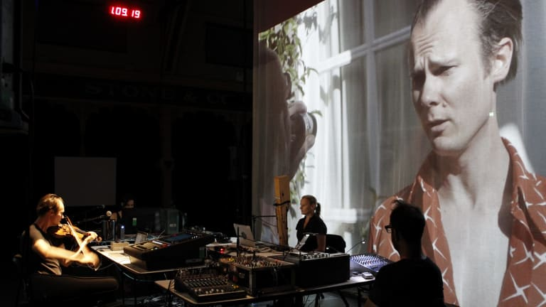 Erkki Veltheim, Sabina Maselli, Natasha Anderson and Anthony Pateras in Chamber Made Opera's Another Other.