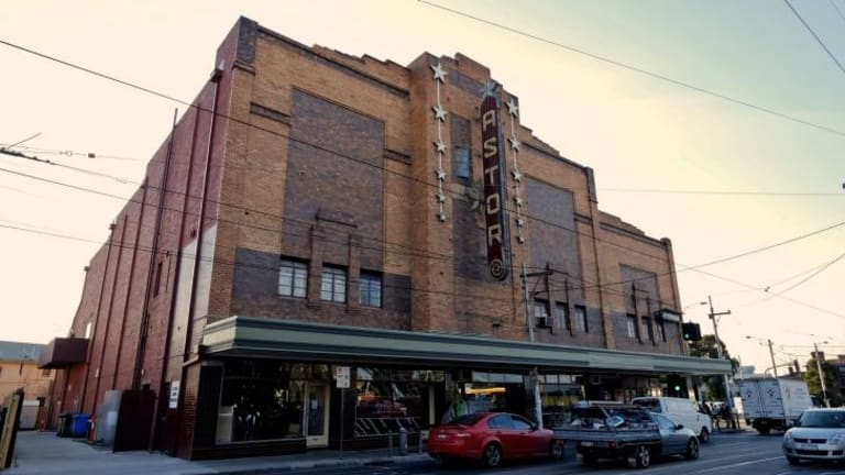 Happy ending: The Astor Cinema, on Chapel Street in St Kilda.