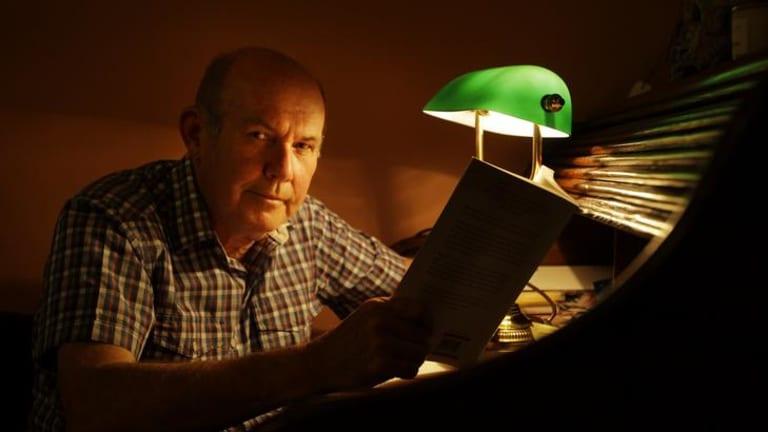 Author Barry Maitland.