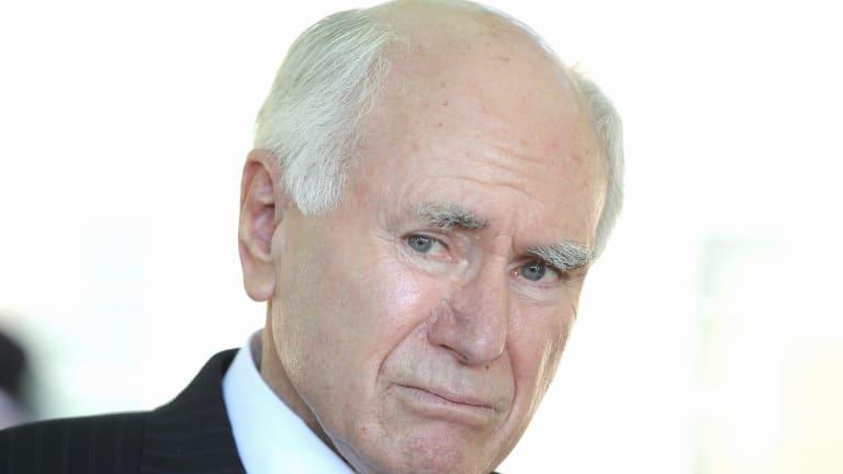 Former Prime Minister John Howard.