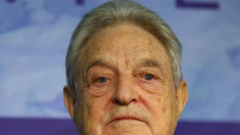 Stark warning ... George Soros.