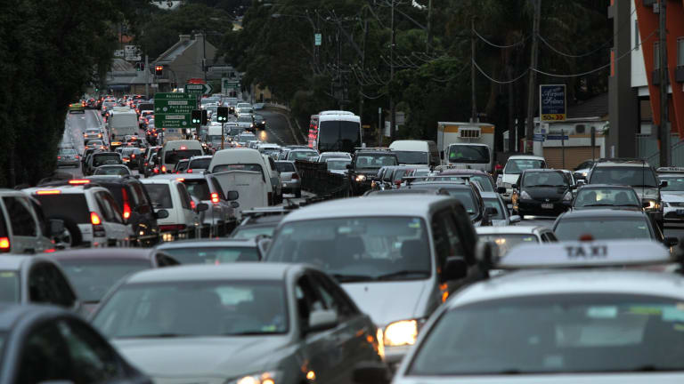 Roads in and around Macquarie Park suffer chronic congestion during peak periods.