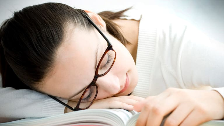 Napping can help productivity.