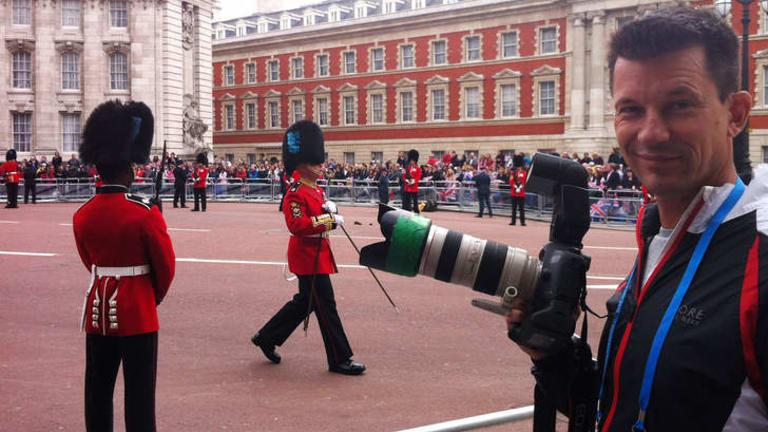 British photojournalist John Cantlie.