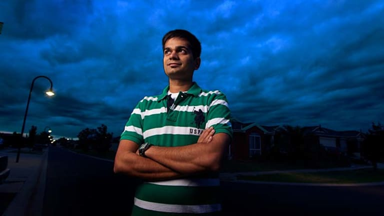 Dushyant Sattiraju has been in Australia for more than a year studying his masters in information sytems.