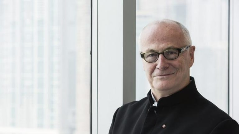Head of the West Kowloon Cultural Authority development: Michael Lynch.