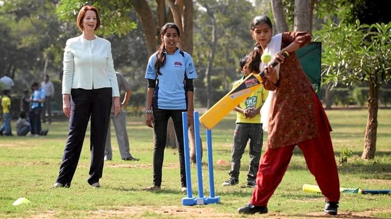 Is Julia Gillard's awarding of an Order of Australia to Sachin Tendulkar yesterday a case of soft diplomacy, or genuine merit?