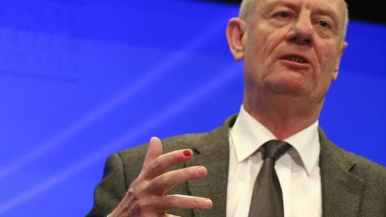Reverend Tim Costello address the National Press Club on Monday.