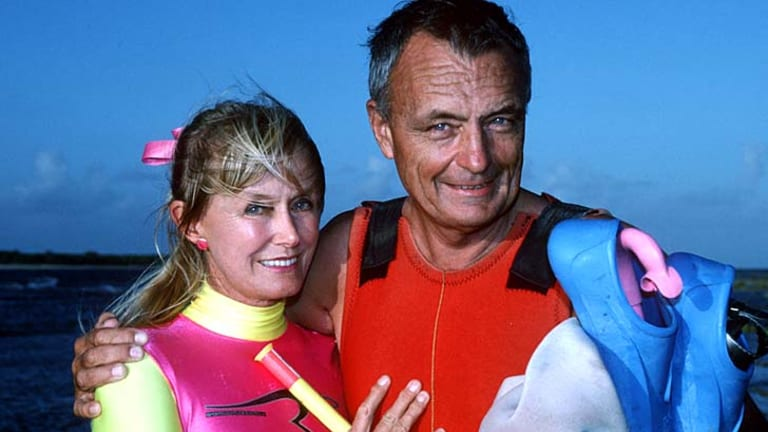 Legacy … Ron and Valerie Taylor dispelled many of the myths that surrounded sharks and fought for the protection of grey sharks and sea lions.