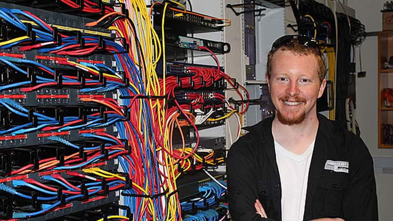 OUT OF THE BOX: Paul Hunkin's latest piece of software genius has caught the attention of Google and Nasa.