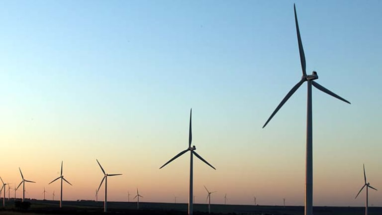 Wind farms need deals before they can get finance.