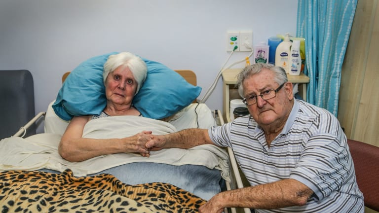 Marie and Ronald Wood, who rely heavily on interest from term deposits, say they are being stripped of hundreds of dollars a year.