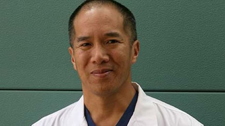 Nuerosurgeon Charlie Teo ...  auctioned chance to see him operate to raise money for cancer.