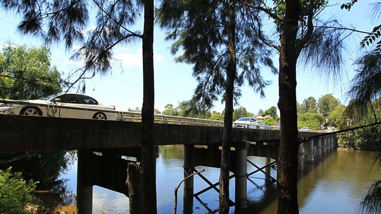 Spanning the years … the Windsor Bridge, built in 1874, needs replacing, according to Roads and Maritime Services.