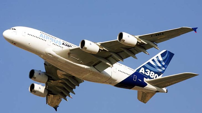 Sixty-eight of the double-decker A380s are flying with seven airlines, including Qantas.