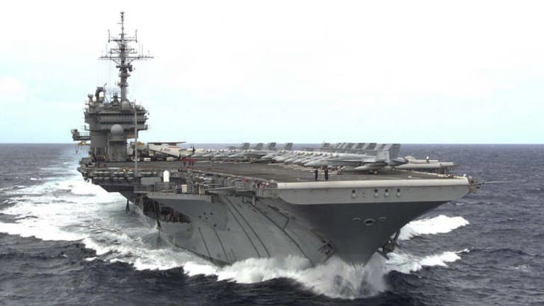 Perth is one of four options for a US aircraft carrier group.