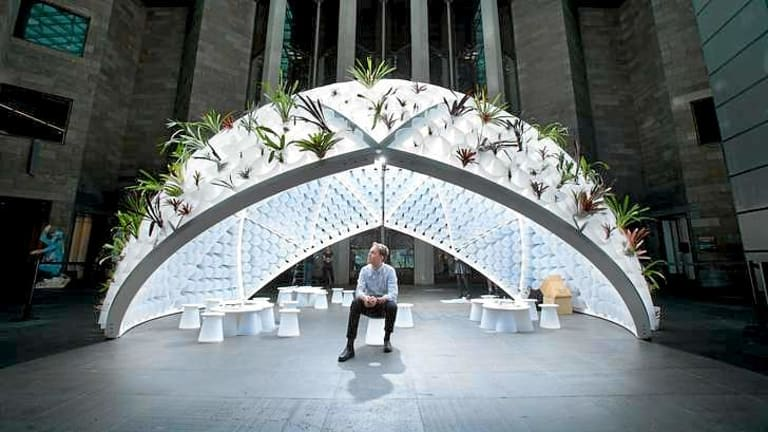 Rory Hyde's Bin Dome at the NGV.