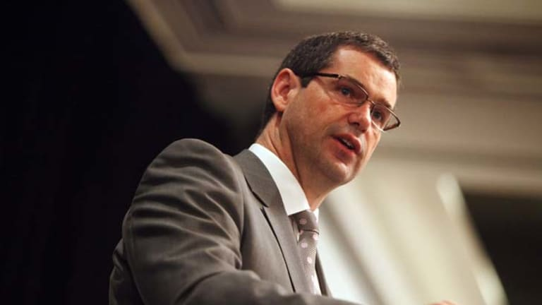 Federal communications minister Stephen Conroy could be asked to lay down the law over a broadcaster rights brawl.