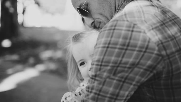 Matt Richell, with daughter Gracie.