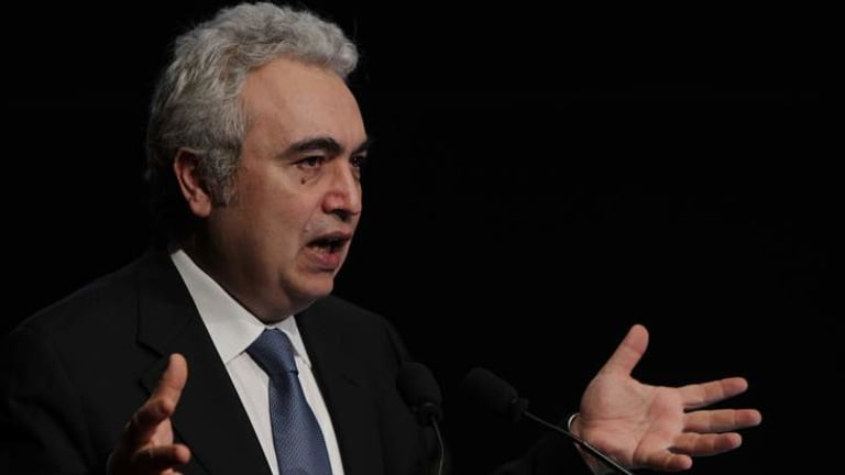 """Asia will """"need every bit of Australia's energy exports...coal, gas and maybe even uranium"""": Fatih Birol."""