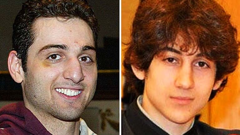 Prime suspects in Boston bombing: Tamerlan Tsarnaev, 26, left, and Dzhokhar Tsarnaev, 19.