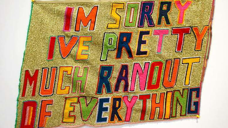 <i>I'm sorry, I've pretty much ran out of everything</I>, Paul Yore 2012.