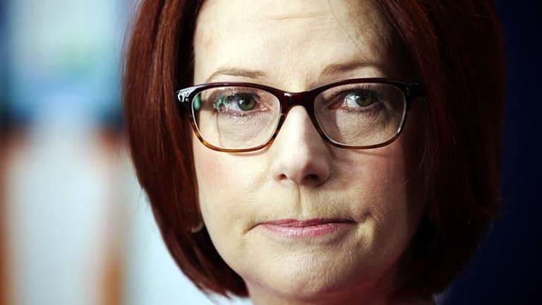 Clamping down on TV bookies: Prime Minister Julia Gillard.