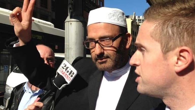 Out on bail: siege gunman Man Haron Monis.