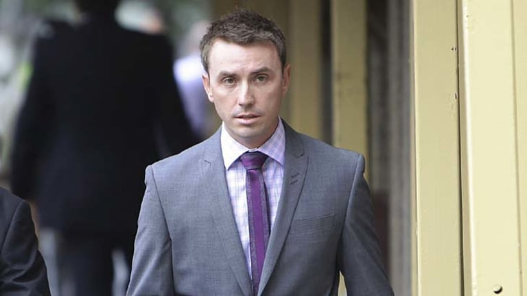 James Ashby: Claimed he was sexually harassed.