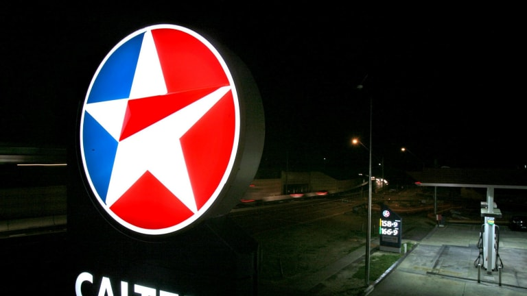Caltex has taken over the running of more than service stations.