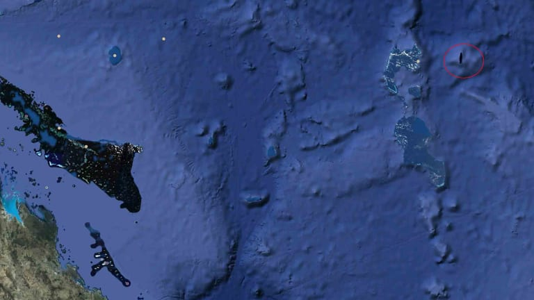 The reference to Sandy Island has been removed from Google Earth.